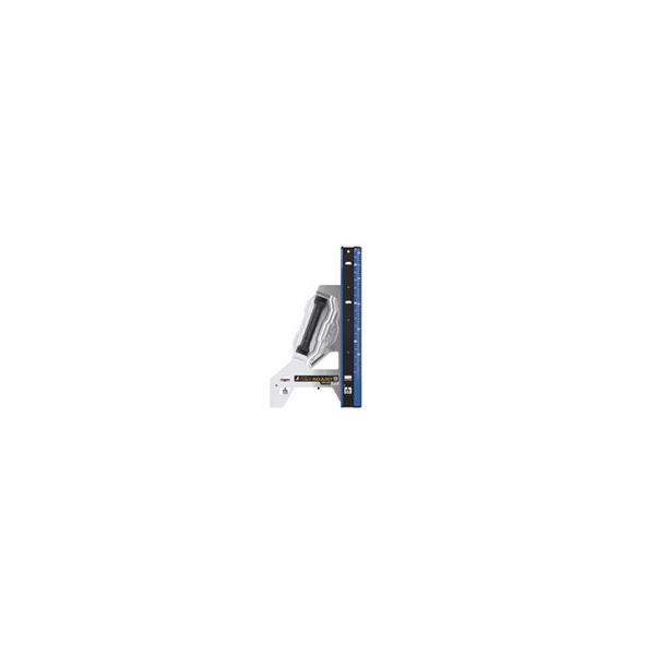リフォーム用品 道具・工具 大工・作業工具 測定用品 丸ノコガイド定規:シンワ測定 エルアングル Plus アジャスト  1000mm