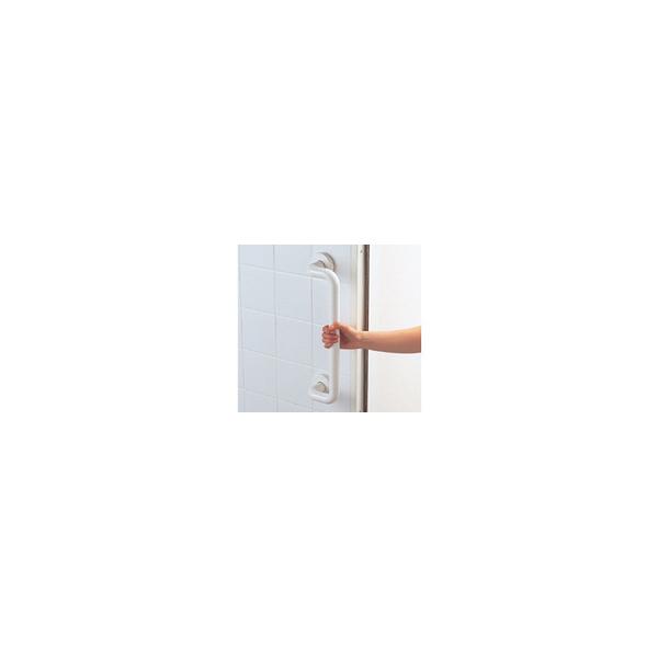 リフォーム用品 バリアフリー 浴室用手すり ステンアクアレール:TOTO オフセット手すり セーフティタイプ 開き戸用 600mm