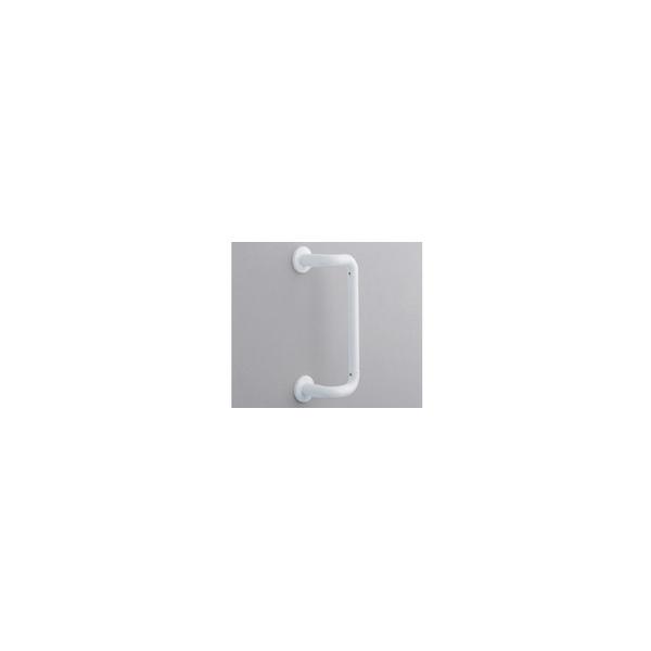 リフォーム用品 バリアフリー 浴室用手すり ステンアクアレール:TOTO オフセット手すり ソフトメッシュタイプ 折戸用 600mm