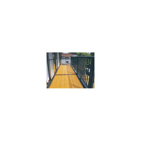 リフォーム用品 建築資材 外まわり デッキ材:タキロンシーアイ デッキ材 中空形300幅 新グレー 4000mm