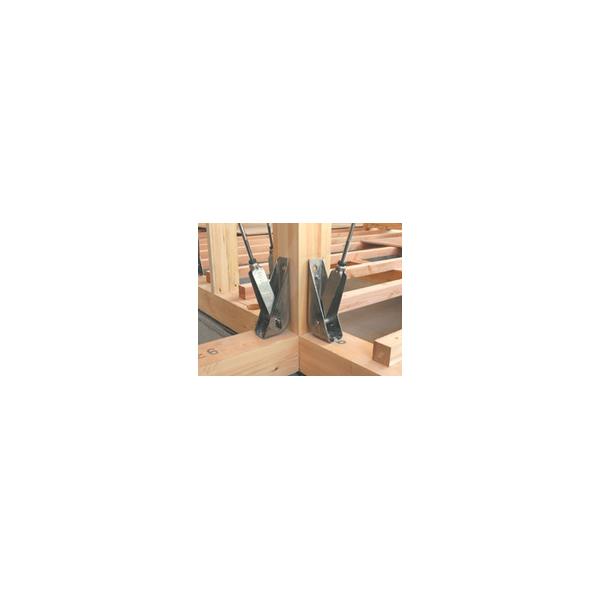 リフォーム用品 耐震・防災 構造の耐震 耐震補強金物:国元商会 コボット本体・接続金具セット