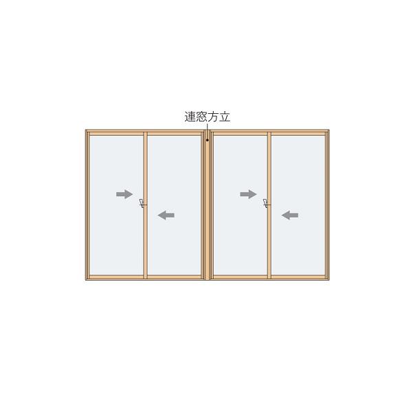 YKKAPプラマードU オプション 連窓方立 直線方立:[長さ2600mm]
