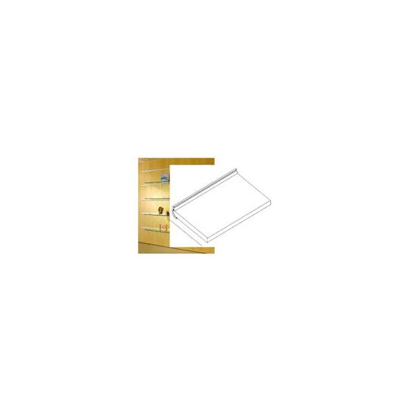 リフォーム用品 収納・内装 棚受 ウォールシェルフ:FLUQS アクリル棚セット W600XD250
