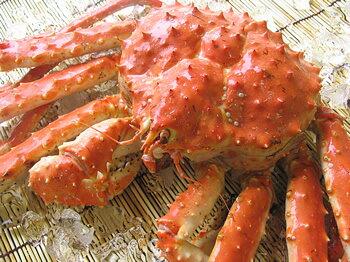 かにと言えば 北海道 北釧水産 まかない用「茹で上げ」本タラバガニ2.4kg前後(急速冷凍)【A】