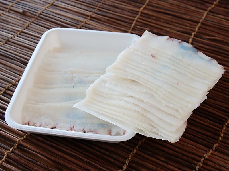 まかない用北海道産たこしゃぶ500g入 急速冷凍 特製タレ1袋 A ダシ昆布付 3個入 休日 公式ストア