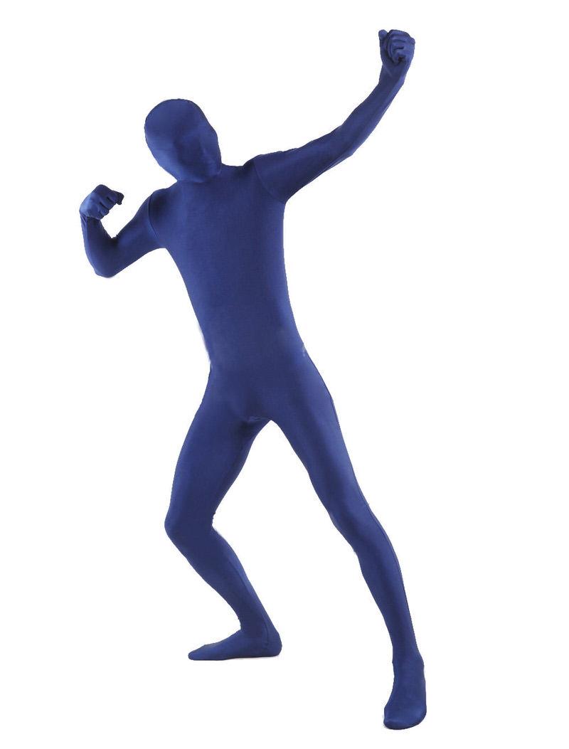 おもしろい服光沢のない 全身タイツコスチューム 着ぐるみ ゼンタイ 弾力・伸縮性あり 余興 ブルー イベント大人 S M L XL 2XL 3XL 145cm-200cm 大きいサイズも対応 大人用zentai全身タイツおもしろい 服人気者 なりきり アイテム(着脱簡単)フロントジッパー ブルー忘年会 クリスマス会 大人用 メンズ レディース パーティー パーティーグッズ