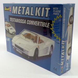 送料無料 ホビー 模型車 車 レーシングカー カブリオレスケールrevell 124 echelle kitferrari sans 8713 cabriolet WEB限定 新着セール adoucisseur testarossa metal