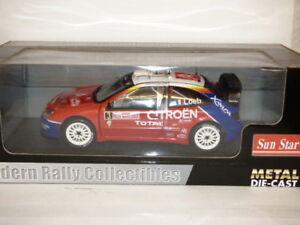 送料無料 ホビー 模型車 車 レーシングカー サンスターシトロエンクサラローブエレナモンテカルロラリーsunstar お気に入り citroen xsara wrc 超安い ref carlo 2004 elena 4407 rallye monte loeb