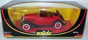 送料無料 ホビー 模型車 車 最安値に挑戦 レーシングカー フォードロードスターsolido ford 8008 118 roadster 新登場 1934rougenoir