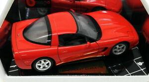 送料無料 ホビー 模型車 ●日本正規品● 車 販売期間 限定のお得なタイムセール レーシングカー スケールモデルシボレーburago echelle corvetterouge 118 voiture modele 1997 3366 chevrolet