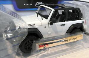 送料無料 ホビー 模型車 車 レーシングカー スケールジープmaisto 46629 2014 好評 scale jeep 118 国内正規総代理店アイテム wranglerblanc