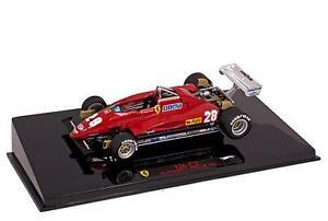 送料無料 ホビー 模型車 車 レーシングカー フェラーリ#イタリアmattel 143 1982 italie 126c2 ferrari 贈呈 andretti メーカー公式ショップ 28