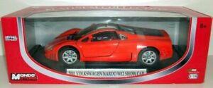 送料無料 ホビー 模型車 車 レーシングカー モンドモーターズフォルクスワーゲンオレンジmondo motors w12orange ファッション通販 500178 118 メーカー直送 nardo car volkswagen 2001