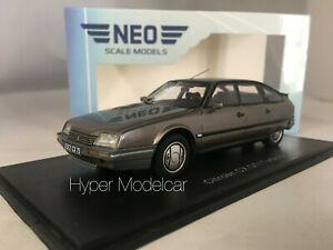 送料無料 ホビー 模型車 車 レーシングカー ネオスケールモデルシトロエンターボグレーアートネオneo scale models 143 citroen turbo 1986 2 アウトレット met cx gti art 未使用 neo45512 gry