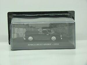 送料無料 ホビー 模型車 車 レーシングカー スポーツボールsimca オーバーのアイテム取扱☆ huit 143 1952 boite altaya sport neuf 通販 激安