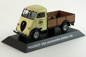 ランキングTOP5 送料無料 ホビー 模型車 車 レーシングカー プジョーピックアップトラックプラトーアシェットプジョーコレクションpeugeot q3a hachette 143eme plateau peugeot collection 1948 割引も実施中 camionnette