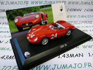 送料無料 ホビー 模型車 車 25%OFF レーシングカー レオモデルマセラティマセラティコレクションmas4s voiture 143 maserati si 200 models 毎週更新 leo collection 1957