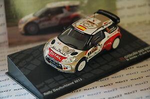 送料無料 ホビー 模型車 車 レーシングカー ラリーカーシトロエンラリードイツネットワークvoiture rallye citroen ds3 143 品質保証 wrc allemagne NEW ARRIVAL ixo dsordo altaya 2013
