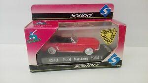 送料無料 ホビー 模型車 車 レーシングカー フォードマスタングフランスロッサsolido ford mustang 1964 超定番 modello rossa red in 143 1 made 日本未発売 4540 43 n france