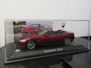送料無料 ホビー 模型車 車 レーシングカー 1年保証 マセラティレオスポーツモデルvoiture maserati neuf 143 sport models leo メイルオーダー grancabrio