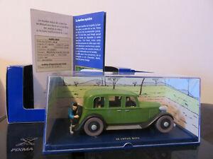 国内在庫 永遠の定番モデル 送料無料 ホビー 模型車 車 レーシングカー タンタンアトラスリムジンvoiture tintin la limousine atlas neuf lotus bleu etat 143 du