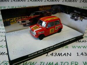 送料無料 ホビー 模型車 車 レーシングカー ネットワークジェームズボンドオースティンミニjb71 voiture 143 ixo 007 austin sa 爆安プライス 《週末限定タイムセール》 bond mini james de au majeste secret