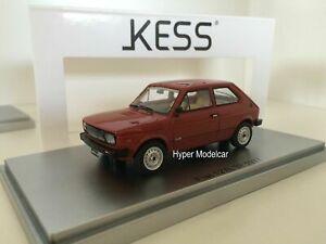 送料無料 ホビー 模型車 新着 車 レーシングカー モデルフィアットボルドーケkess model ke43010071 2s bordeaux 1977 fiat 127 143 激安通販ショッピング