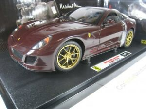 <title>送料無料 ホビー 模型車 車 レーシングカー フェラーリマイケルマンエリートダークレッドferrari 599 gto michael mann 118 通信販売 hotwheels elite dark red</title>