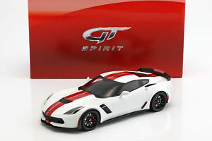 送料無料 ホビー 模型車 車 レーシングカー シボレーコルベットホワイトレッドグアテマラchevrolet corvette 在庫限り z06 118 blancrouge 2017 春の新作 gtspirit c7 annee