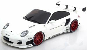 送料無料 ホビー 模型車 車 レーシングカー 与え グアテマラポルシェポンドパフォーマンスホワイト118 gt porsche performance white spirit lb 997 911 日時指定