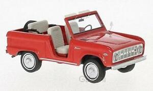 <title>送料無料 ホビー 模型車 車 レーシングカー ネォードブロンコロードスターneo 47210 ford 新品未使用 bronco roadster rouge 1966 143</title>