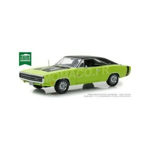 <title>送料無料 ホビー 模型車 車 レーシングカー ダッジチャレンジャーgreenlight ギフト 13529 dodge challenger rt 1970 verte 118</title>