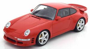 <title>送料無料 ホビー 模型車 車 レーシングカー グアテマラポルシェターボレッド118 gt spirit porsche 優先配送 reputation 911 993 turbo red</title>