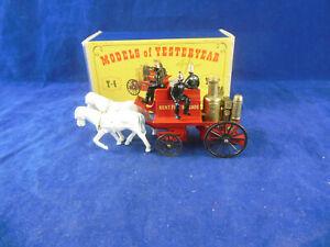 <title>送料無料 ホビー 模型車 車 売買 レーシングカー マッチメイソンmatchbox yesteryear y4 2 1905 shand mason horse drawn fire engine issue 3</title>