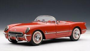 送料無料 ホビー 模型車 車 超歓迎された レーシングカー シボレーコルベットレッドモデルカー71082 安い autoart chevrolet 118 model red cars 54 corvette