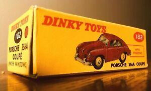 送料無料 ホビー オリジナル 模型車 車 上品 レーシングカー ポルシェdinky toys 356 182 aboxed porsche