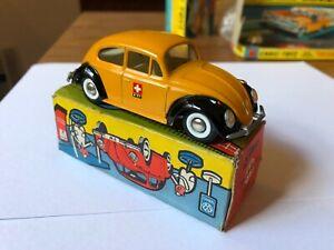送料無料 ホビー 模型車 車 レーシングカー フォルクスワーゲンビートルスイスオリジナルボックスオンtekno vw 819 jaune suisse ptt boite dorigine 賜物 avec 2020新作 beetle volkswagen