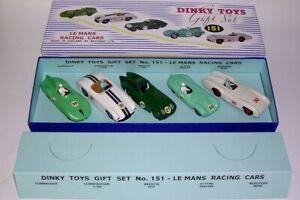 送料無料 ホビー ※ラッピング ※ 模型車 格安店 車 レーシングカー ボックスレースカーコードdinky cret racing lemans 3 151 carscode cadeau