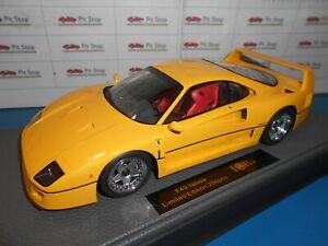 送料無料 ホビー 模型車 車 レーシングカー トップトップブランドフェラーリイエローtop098b by ferrari marques top 奉呈 yellow 奉呈 118 1987 f40