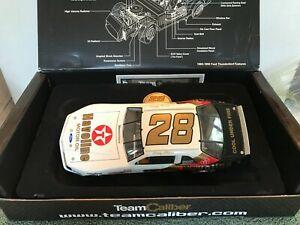 送料無料 定価の67%OFF #フォード サンダーバード:チームの口径のます 希少 1987 #28 Davey Allison NMINT Caliber Thunderbird 使い勝手の良い Ford 1:24 Team RARE Havoline