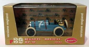 ホットセール 【送料無料】モデルスケールダイキャストブガッティのブレシア青Brumm Models - 1 Scale/43 Scale - Diecast R39 - 1921 Bugatti HP 40 Brescia - Blue, 湧別町:9de03bda --- kventurepartners.sakura.ne.jp
