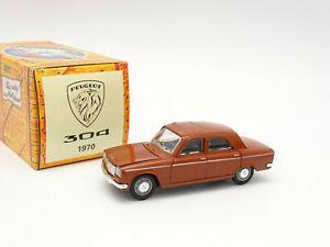 【送料無料】ホビー ・模型車・バイク レーシングカー ノレフハシェットプジョーブラウンnorev hachette 143 peugeot 304 1970 brown