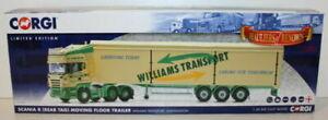 【送料無料】ホビー ・模型車・バイク レーシングカー コーギースケールスカニアフロアトレーラーウィリアムズトランスポートcorgi 150 scale cc13746 scania r moving floor trailer williams transport