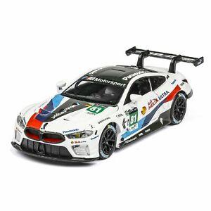 【送料無料】ホビー 模型車 モデルカー レーシングライトオープンドアスポーツモデルmodified racing car toy light opening door sports car model for children