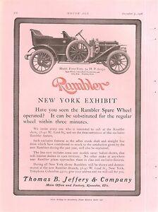 送料無料 ホビー 模型車 モデルカー ランブラーモデルツーリングビンテージカー1909 rambler model car orig touring 44 セール vintage ad セール価格