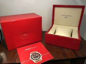 人気特価 【送料無料】腕時計 ferrari ジラールペルローフェラーリレッドイエロークレストプレゼンテーションウォッチボックス authentic authentic crest girardperregaux ferrari red yellow crest presentation watch box, 芝山町:f0d7251e --- coursedive.com