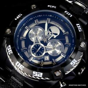 【送料無料】腕時計 インビクタマーベルパニッシャースピードウェイバイパーブラックステンレスウォッチ