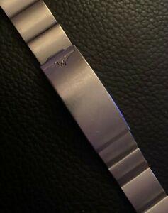 送料無料 腕時計 ロンジンステンレスミリメートルヴィンテージブレスレットvintage bracelet for 爆売り stainless longines steel 別倉庫からの配送 18mm