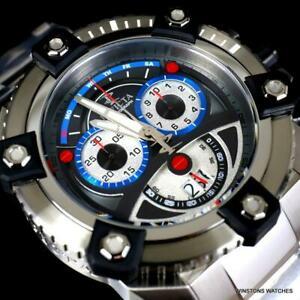 送料無料 毎日がバーゲンセール 腕時計 インビクタリザーブグランドオクタンステンレススイスクロノグラフウォッチinvicta reserve AL完売しました grand octane stainless swiss watch chronograph steel 63mm