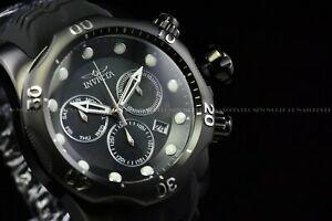送料無料 腕時計 超安い ブランド品 インビクタメンズヴェノムトリプルブラックスイスクロノグラフダイバーウォッチ